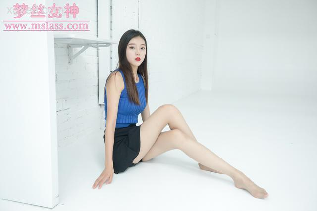 [梦丝女神写真] 舒蕾 艺术空间丝袜美腿